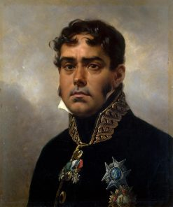 Portrait of General Pablo Morillo | Horace Vernet | Oil Painting