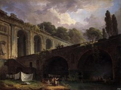 Villa Madama near Rome | Hubert Robert | Oil Painting