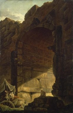 Ruins of Antique Triumphal Arch | Hubert Robert | Oil Painting