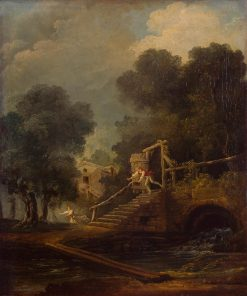 Flight of Galatea | Hubert Robert | Oil Painting