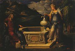 Christ and the Samaritan Woman | Il Garofalo | Oil Painting