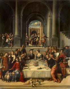 Marriage at Cana | Il Garofalo | Oil Painting