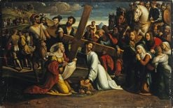 Carrying of the Cross (Saint Veronica) | Il Garofalo | Oil Painting