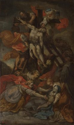 Descent from the Cross | Italian School th Century   Unknown | Oil Painting