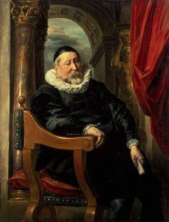 Portrait of an Old Man   Jacob Jordaens   Oil Painting