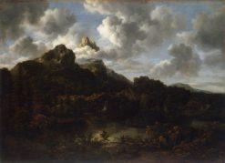 Mountanous Landscape | Jacob van Ruisdael | Oil Painting