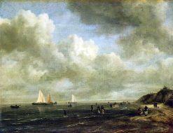 Seashore | Jacob van Ruisdael | Oil Painting
