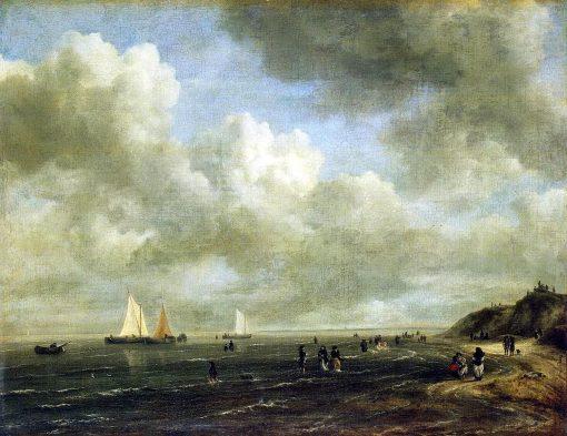 Seashore   Jacob van Ruisdael   Oil Painting