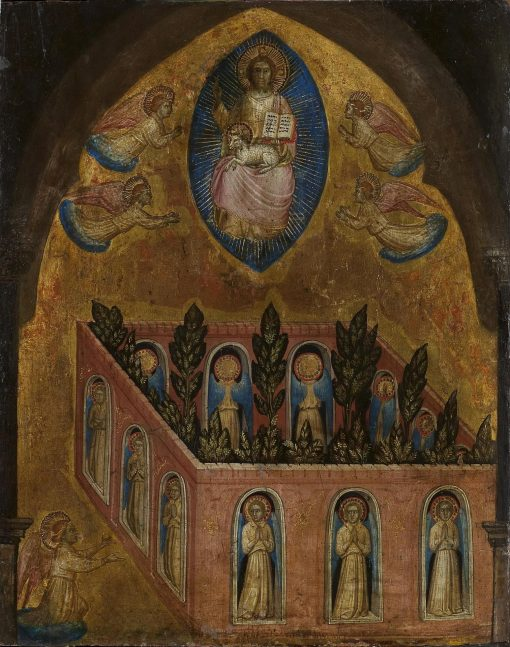 Heavenly Jerusalem | Jacobello Alberegno | Oil Painting
