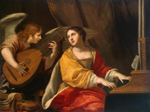Saint Cecilia | Jacques Blanchard | Oil Painting