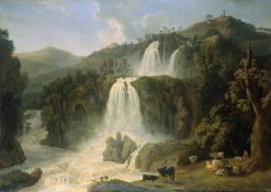 Great Cascades at Tivoli | Jakob Philipp Hackert | Oil Painting