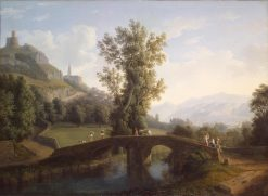 View of Montesarchio | Jakob Philipp Hackert | Oil Painting
