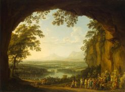 Landscape with an Ancient Festival | Jakob Philipp Hackert | Oil Painting