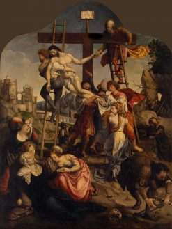Descent from the Cross | Jan Gossaert | Oil Painting