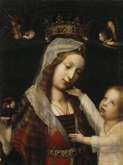 Virgin and Child | Jan Provoost | Oil Painting