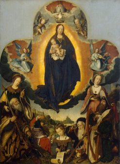 The Coronation of the Virgin | Jan Provoost | Oil Painting