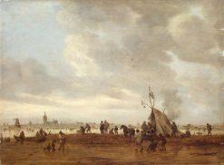 Winter Scene near The Hague | Jan van Goyen | Oil Painting