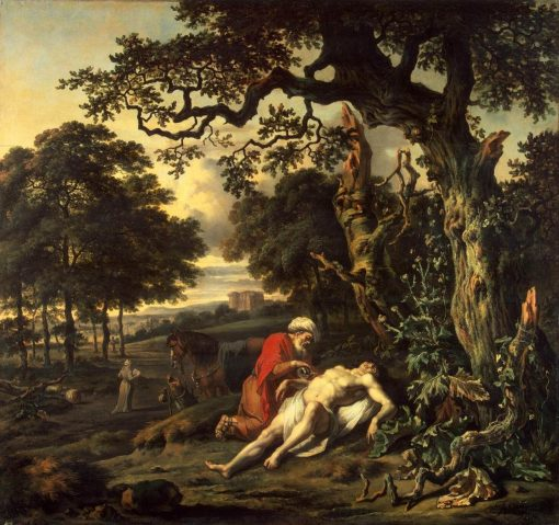 Parable of the Good Samaritan | Jan Wijnants | Oil Painting