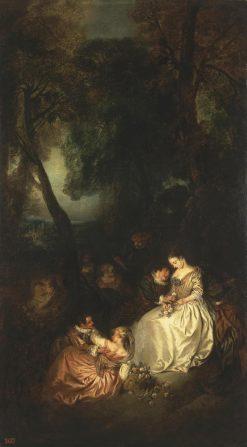 Scene in a Park | Jean Baptiste Pater | Oil Painting