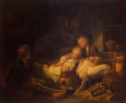 Farmer's Children | Jean HonorE Fragonard | Oil Painting