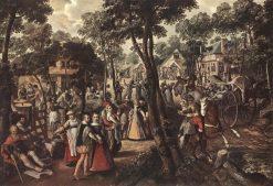 Village Feast   Joachim Beuckelaer   Oil Painting