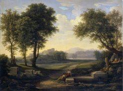 Ideal Landscape | Johann Christian Reinhart | Oil Painting