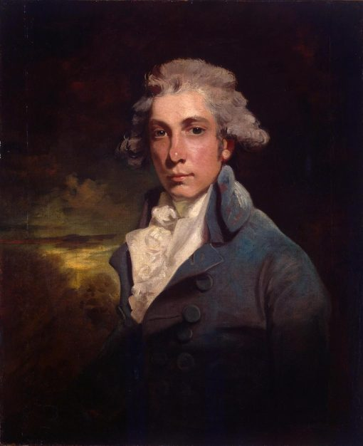 Portrait of Richard Brinsley Sheridan (1751-1816) | John Hoppner | Oil Painting