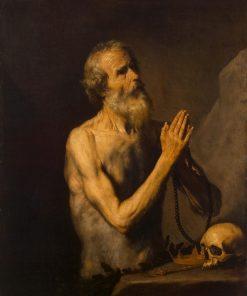 Saint Onuphrius | Jusepe de Ribera | Oil Painting