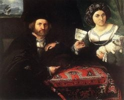Husband and Wife | Lorenzo Lotto | Oil Painting