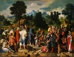 Christ Healing the Blind | Lucas van Leyden | Oil Painting