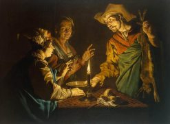 Esau and Jacob | Matthias Stomer | Oil Painting