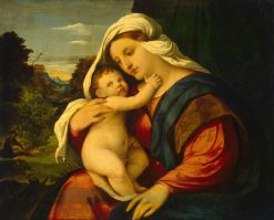 Madonna and Child | Palma il Vecchio | Oil Painting