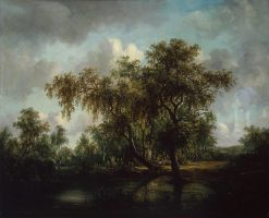 Landscape with a Pond | Patrick Nasmyth | Oil Painting