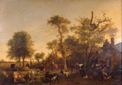 The Farm | Paulus Potter | Oil Painting