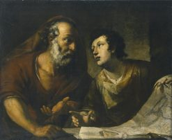 Geographer | Pier Francesco Mola | Oil Painting