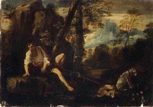 Narcissus | Pier Francesco Mola | Oil Painting