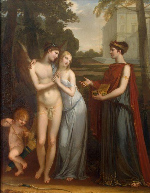 Innocence Preferring Love to Wealth | Pierre Paul Prud'hon | Oil Painting