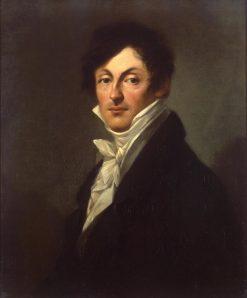 Portrait of Count Alexander Osterman-Tolstoy | Pierre Paul Prud'hon | Oil Painting
