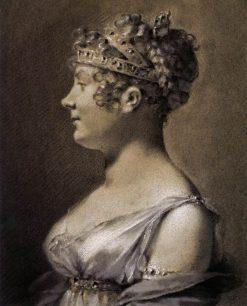 Portrait of Princess Talleyrand | Pierre Paul Prud'hon | Oil Painting