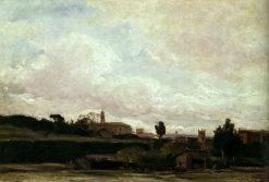Landscape   Richard Parkes Bonington   Oil Painting