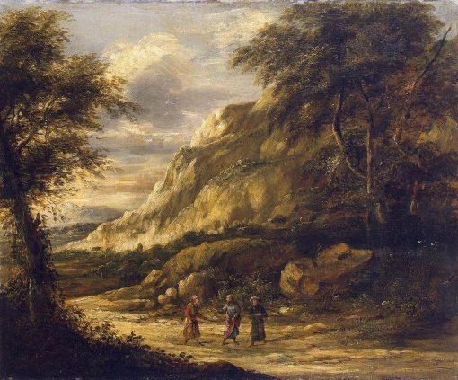 A Landscape | Roelant Roghman | Oil Painting