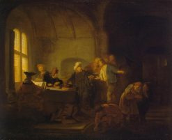 Parable of the Workers in the Vineyard | Salomon Koninck | Oil Painting