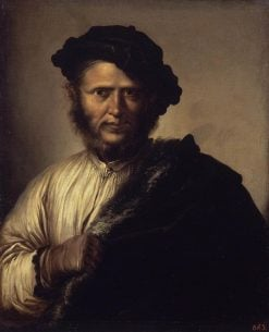Portrait of a Man | Salvator Rosa | Oil Painting