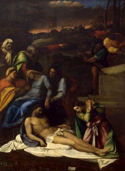 The Lamentation | Sebastiano del Piombo | Oil Painting