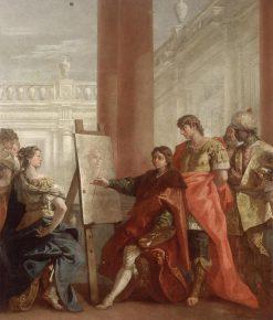 Apelles Paints Campaspa | Sebastiano Ricci | Oil Painting