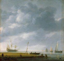 Seashore | Simon de Vlieger | Oil Painting