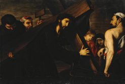 Christ Carrying the Cross | Spanish School th Century   Unknown | Oil Painting