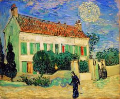 White House at Night | Vincent van Gogh | Oil Painting