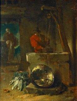 The Yard of a Farmhouse | Willem Kalf | Oil Painting