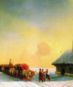 Chumaks in Ukraine | Ivan Constantinovich Aivazovsky | Oil Painting